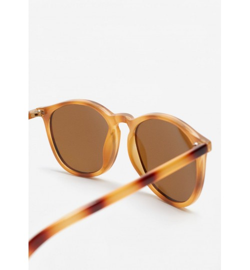 MANGO Acetate Frame Sunglasses