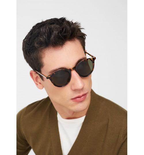MANGO Tortoiseshell Retro Sunglasses