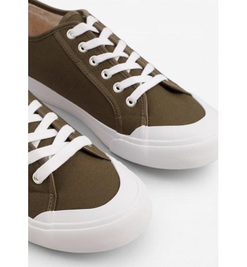 MANGO Canvas Sneakers