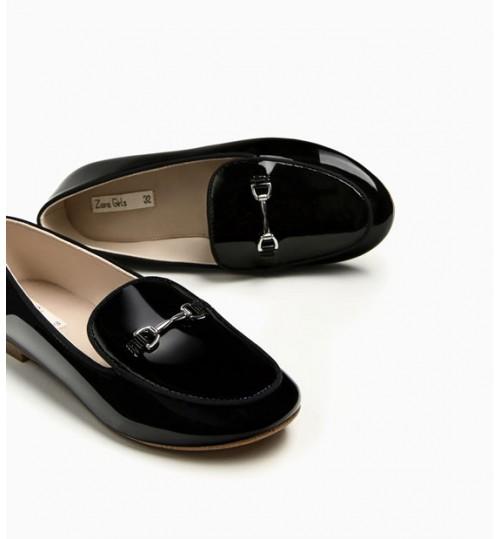 ZARA Kids Patent Finish Shoes