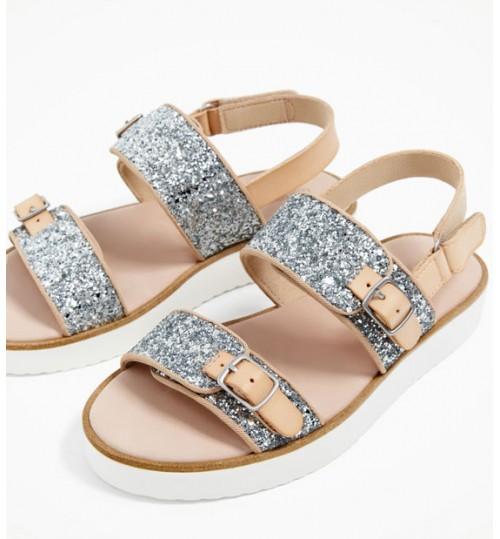 ZARA Kids Glitter Sandals