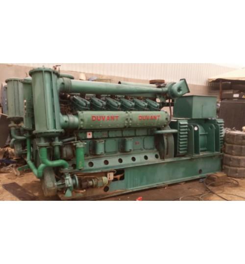 Generator Duvant Dual Generator Duvant France Manufacturing Each Generator 1600Kva Diesel and Petrol Operation Full Capacity 3200 Kva