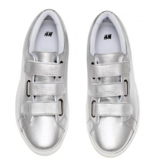 H&M Leather Trainers