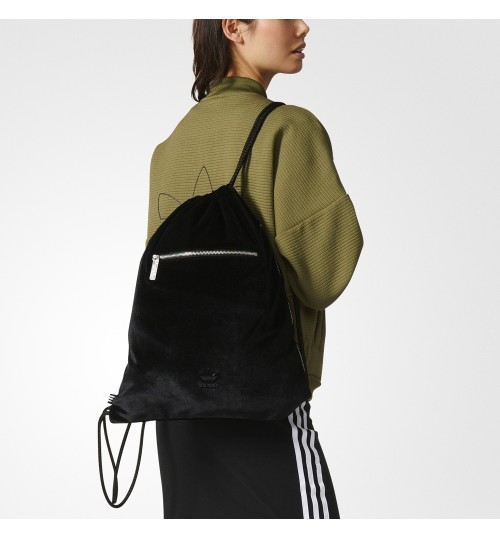 Adidas BRKLYN Heights Velvet Gymsack XL