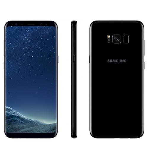 Samsung Galaxy S8 Plus ,Dual SIM,64 GB,Camera 12 MP,4K,RAM 4GB,6.2 inch,Octa CoreوBlack,Agent Guarantee