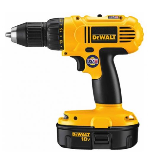 dewalt drill model DC759KA battery 18 volt size 1/2 inch agent guarantee