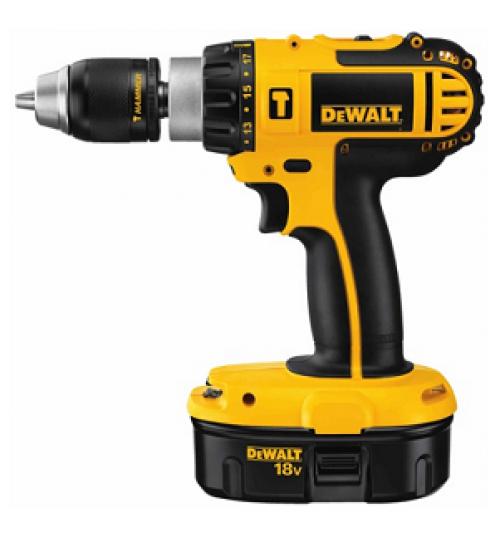 dewalt drill model DC725KA battery 18 volt size 1/2 inch agent guarantee