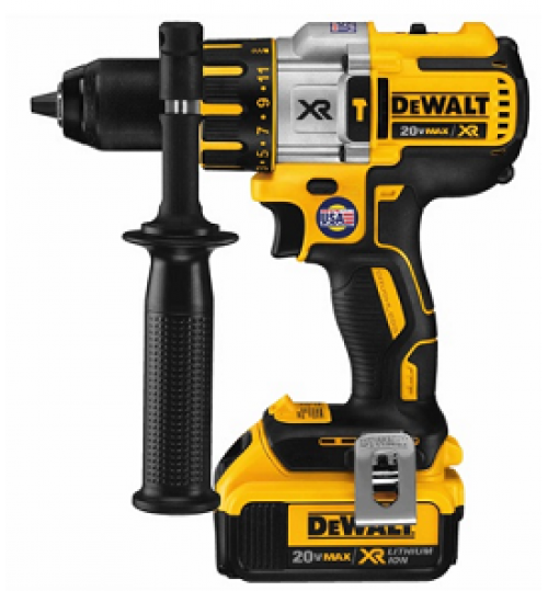 dewalt drill model DCD995M2 battery 20 volt size 1/2 inch agent guarantee
