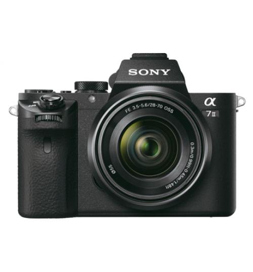 Camera Sony,α7 II E-mount Camera with Full Frame Sensor,24.3 MP,agent Guarantee