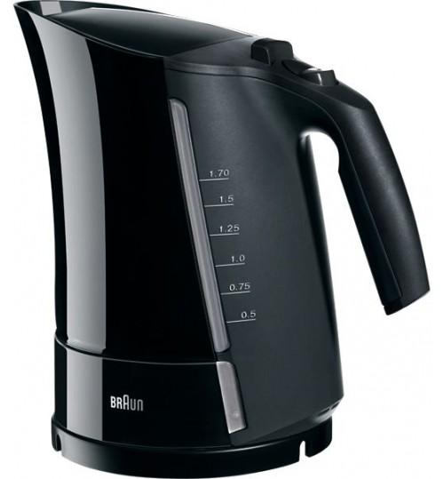 Braun Model WK 500 Multiquick 5 kettle Black 1.7 Liter
