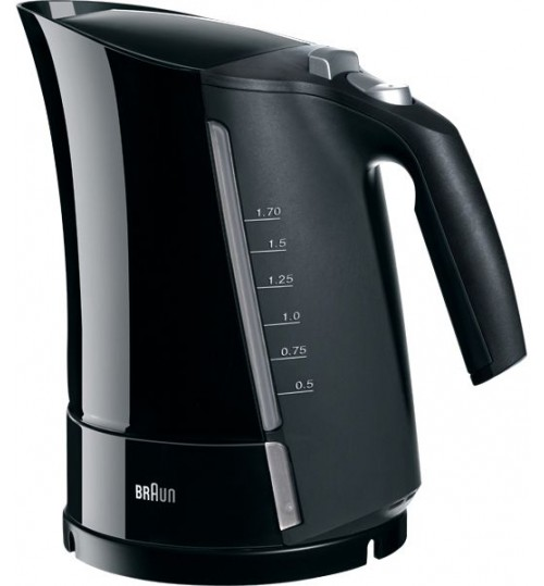 Braun Model WK 500 Multiquick 3 kettle Black 1.7 Liter
