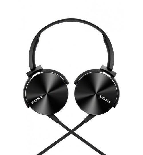 Sony Headphones,MDRXB450AP Extra Bass Smartphone Headset Black