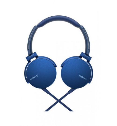 Sony Headphones,MDRXB450AP Extra Bass Smartphone Headset Blue