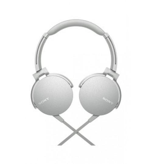 Sony Headphones,MDRXB450AP Extra Bass Smartphone Headset White