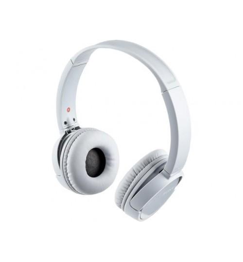 Sony Headphone,MDRZX220BT,Wireless, On-Ear Headphone,White