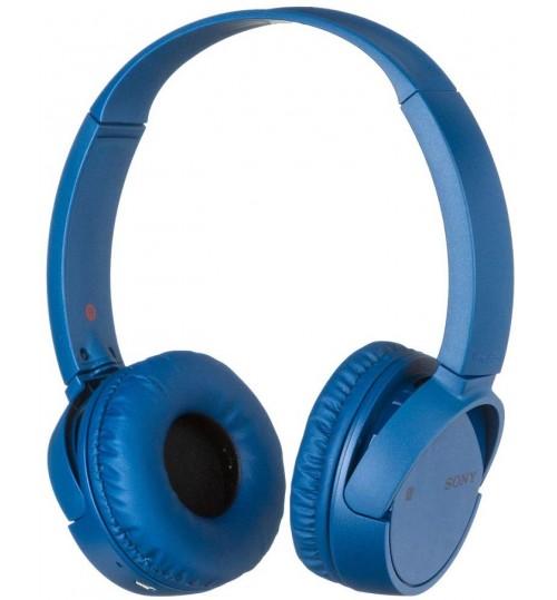 Sony Headphone,MDRZX220BT,Wireless, On-Ear Headphone,Blue