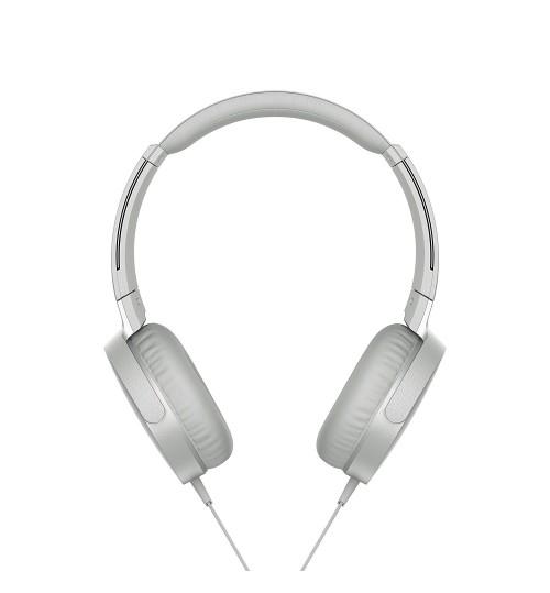 Sony Headphone,Sony,XB550AP,Extra Bass On-Ear Headphone,White