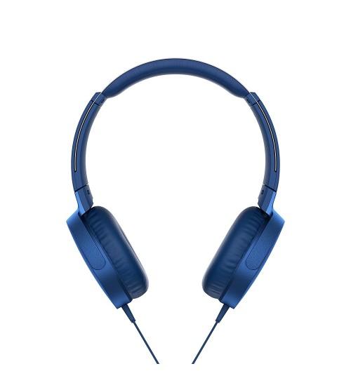 Sony Headphone,Sony,XB550AP,Extra Bass On-Ear Headphone,Blue