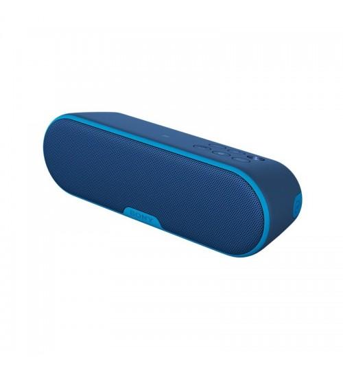 Sony Portable Bluetooth Speaker model SRSXB2/L BlUE
