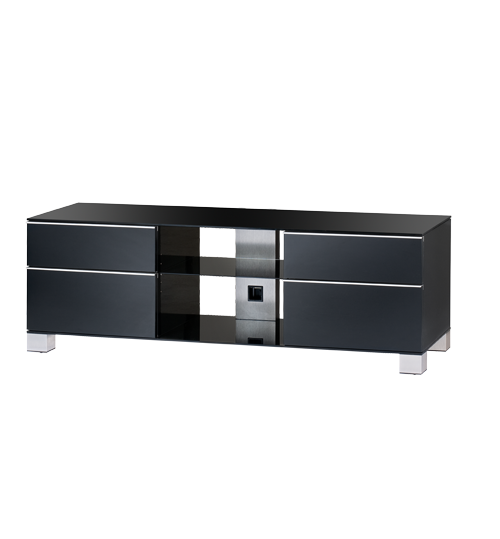 Sonorous Table MD-9340-B-HBLK-WNG